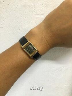 18ct Women's Gold Art Deco Watch