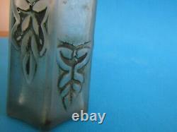 Ancien Flacon A Parfum En Verre De Julien Viard Art Nouveau Art Deco Lalique