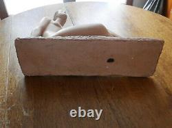 Ancient Sculpture Terracotta Bust Art Deco Naked Woman