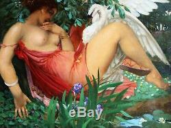André Pierre Lupiac, Painting, Painting, Mythology, Art Deco, Woman, Eroticism
