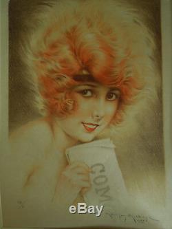 Art Deco Maurice Millière Art Print