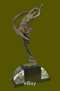 Art Deco / New Woman Nude Sale Statue Figurine Bronze Sculpture Figurine