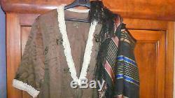 Costume Lady Of Art Deco Silk Dress. Original