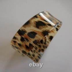Diamond Bracelet Leopard Woman Art Deco Collection Jewel Vintage Design XX N5321