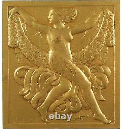 France Art Deco Dance Woman With Guirland By Thenot Neoclassical Bronze Doré