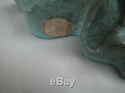 Goldscheider Profile Ceramic Art Deco Woman 1940