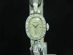 Hamilton Art Deco Article 14kt Gold Wound Watch Women / Caliber 757