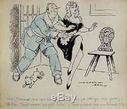 John Hood, Drawing, Humor, Nude, Erotic, Erotica, Sex, Cartoon