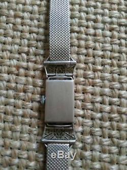 Ladies Watch Art Deco Platinum And Diamonds