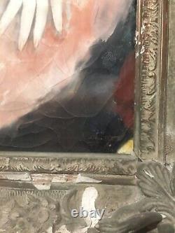 Micao Kono Woman Asleep Oil On Original Web