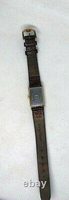 Montre Watch Tissot 1853 Pl. Gold 18 Carat A222k Swiss Art Deco Vintage Woman