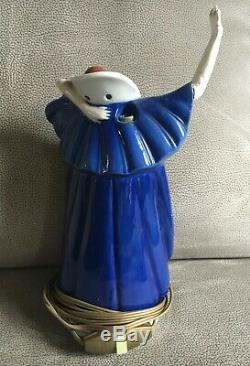 Old Night Ceramic Art Deco Woman