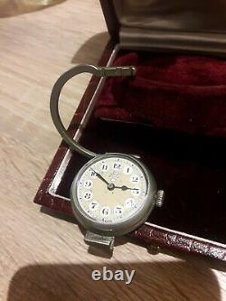 Rare And Superb Handbag Watch The Emerald Lausanne Swiss Art Deco Watch