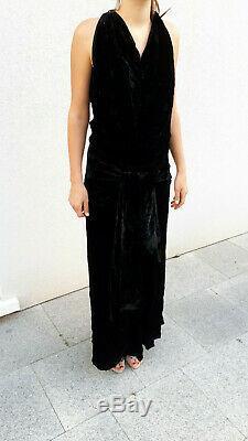 Rare Superb Authentic Evening Dress Bolero 1920 20s Art Deco Dress