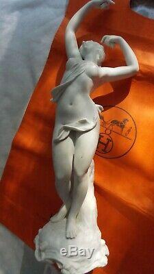 Statue Female Body Art Deco