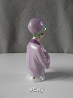 Statue Half Figure Art Deco Woman Fasold & Stauch Porcelain Half Doll