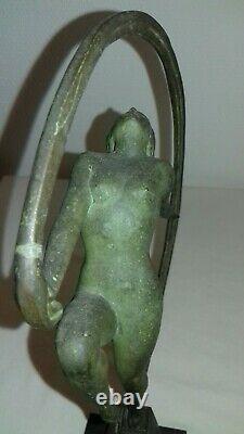 Statue Sculpture Art Deco 1930 Female Dancer