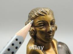 Superb Element Of Elegant Woman Sculpture Grand Not In The Art Deco To See