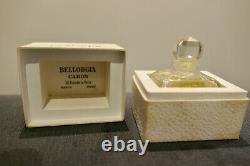 Superb Perfume Caron Bellodgia Art Deco 1927 Baccarat
