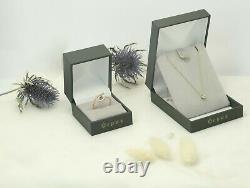 Vintage Ring Old Woman White Gold 18k Carat Diamond