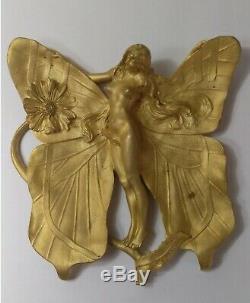 Woman Butterfly Charles Korschann / Spade, Ormolu