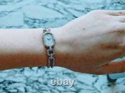 Women's Watch Chopard Authentic Gold 18k, 54 Diamonds, Art Deco Style