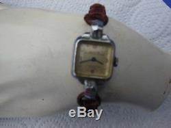 Zenith Art Deco -1930 Steel Watch, Vintage, Woman, Mechanical Zenith