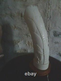 Ancienne Lampe Veilleuse Art Deco Femme 1930