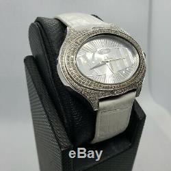 Blanc 1.5 Carat Bijoux Montre Diamant pour Femmes Naturel