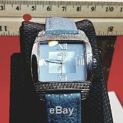 Bleu. 50 Carat Fin Bijoux Diamant Montres. Véritable Véritable Diamants. Suisse
