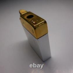 Briquet argent or SILVER MATCH spécial femmes JMC PLORGAVI art déco N4876
