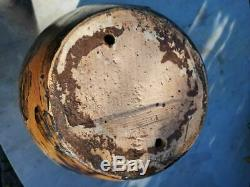 Cache pot terre cuite vernissée femme nue érotique 1925 1930 art déco