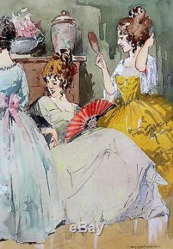 Charles VAN ROOSE, femme, mode, dessin, art déco, romantisme, Belgique