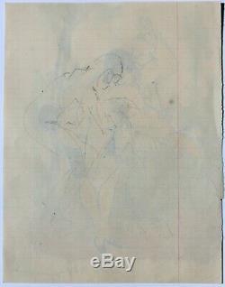 François d'Albignac, dessin, érotica, fessée, femme, caricature, érotique