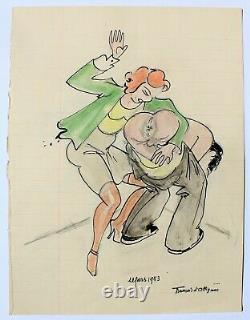 François d'Albignac, dessin, érotica, sexe, femme, caricature, érotique