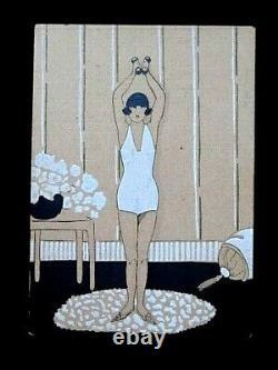 G. Joumard Joujou La Culture Physique de la Femme Élégante Pochoir art-déco 3
