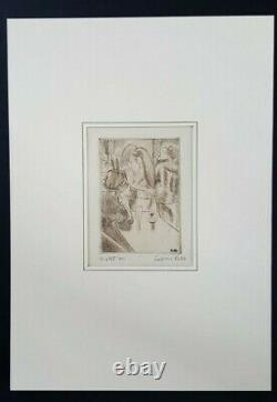 Gravure Ludovic-Rodo Pissarro bal danse femmes lesbiennes gay XXéme