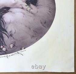 Impression Eve Louis Icart Portrait Art Déco Femme Nue Serpent Ed Jaubert 1928