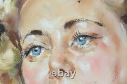 Jean Albert GRAND-CARTERET (1903-1954) Jeune femme à demi nue 72 x 58 cm Adler