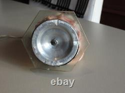 LAMPE COQUILLAGE gravée ART DECO FEMME NUE EROTICA VINTAGE CAMEE SHELL LAMP