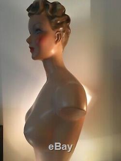Mannequin buste femme SIEGEL années 30 excellent état