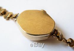 Montre de femme et bracelet en OR vers 1930 gold BRACELET watch ROTARY