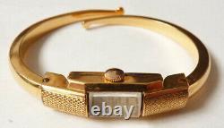 Montre femme BAUME & MERCIER plaqué or ART DECO avec écrin watch