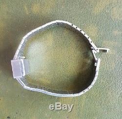 Montre femme Severine Art Deco Argent Mecanique RefV146