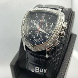 Noir. 75 Carat Bijoux Montre Diamant pour Femmes Naturel