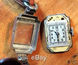 Petite montre femme mécanique, LIP 143 dans son écrin, Art Déco, 1940