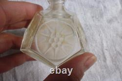 Rare flacon parfum ISABEY Mon seul ami verre pressé Art Déco