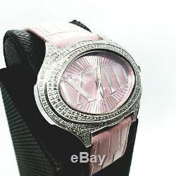 Rose 1.5 Carat Fin Bijoux Diamant Montres. Véritable Véritable Diamants. Suisse