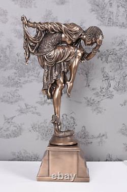Sculpture Féminine 20er Ans Style Oriental Danseuse Chiparus Figurine Veronese