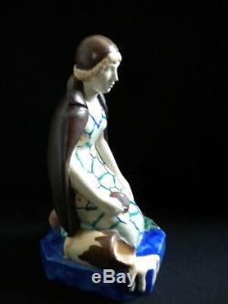 Sujet Femme Art déco D'ARGYL